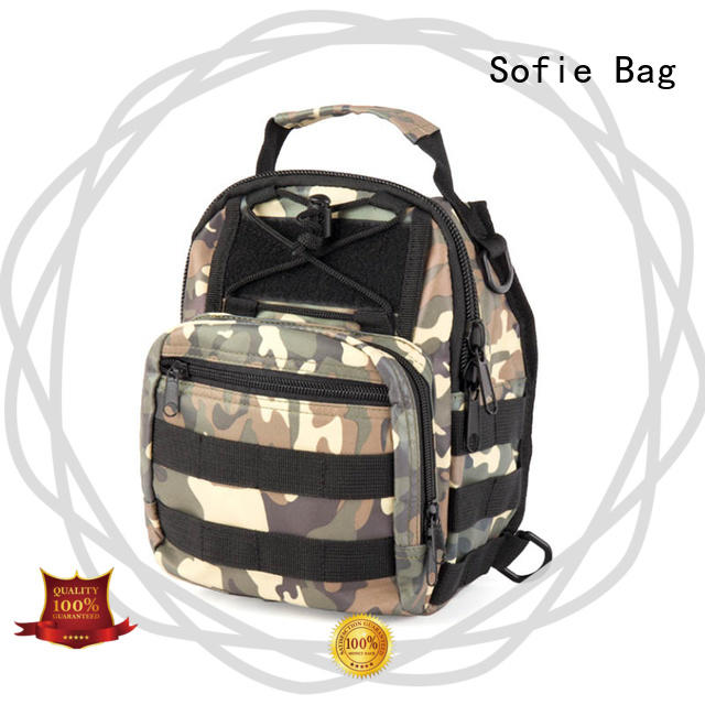 Sofie military chest bag factory direct supply for packaging