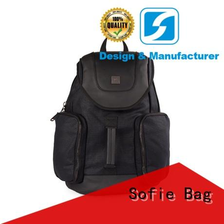 Sofie knitted fabric casual backpack wholesale for college
