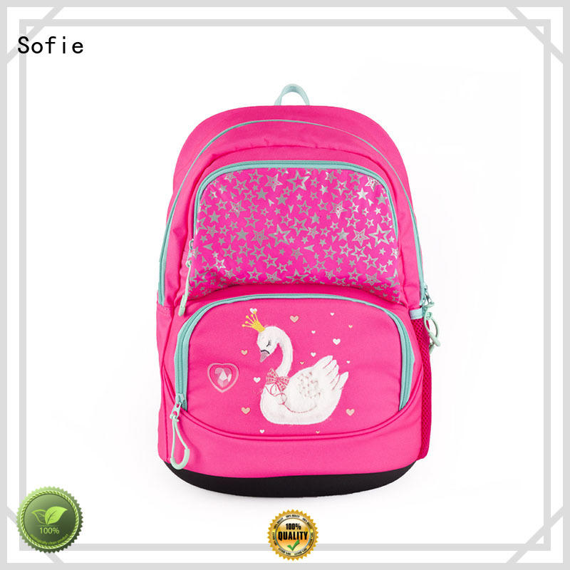 Sofie good quality school bags for girls customized for children
