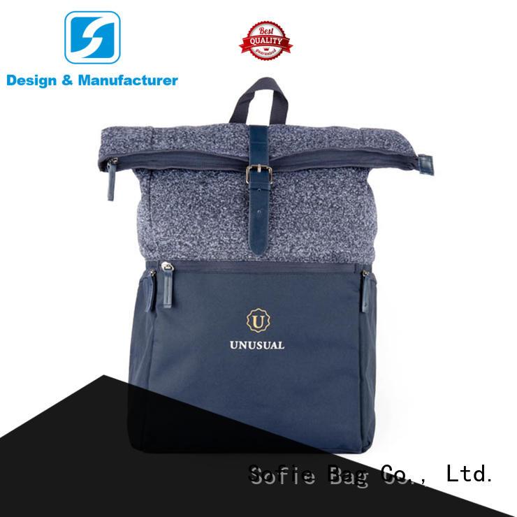 Sofie wrinkle printing waterproof backpack personalized for travel