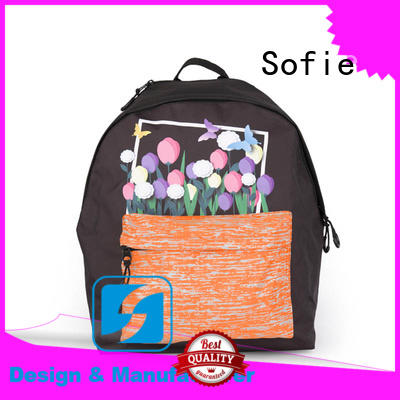 Sofie comfortable students backpack wholesale for children