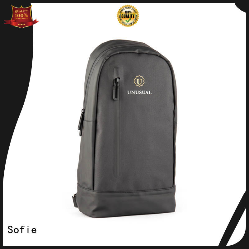 Sofie modern design military chest bag series for men
