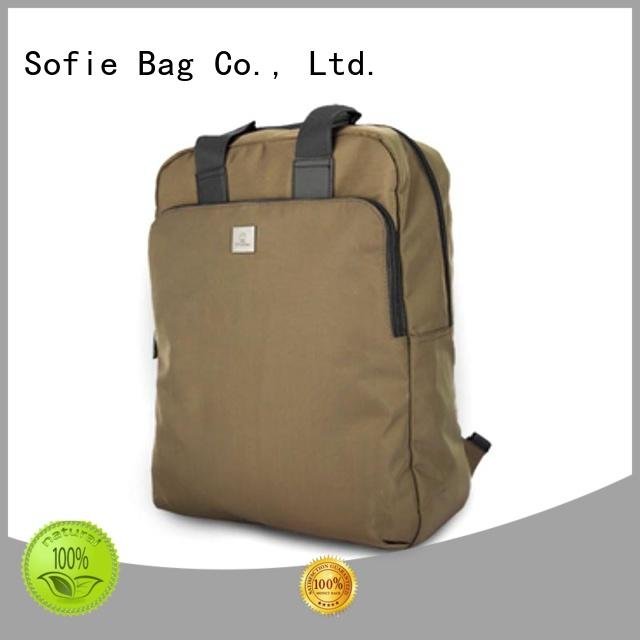 Sofie convenient stylish backpack manufacturer for college