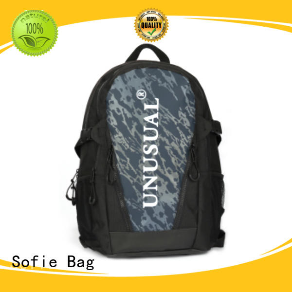 PU leather handle cool backpacks personalized for travel