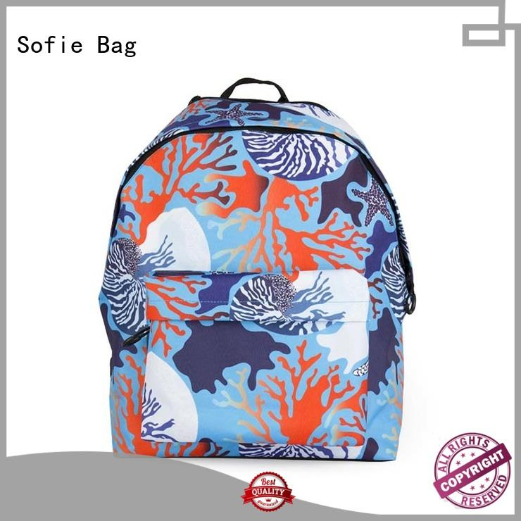 polyester school bag customized for kids