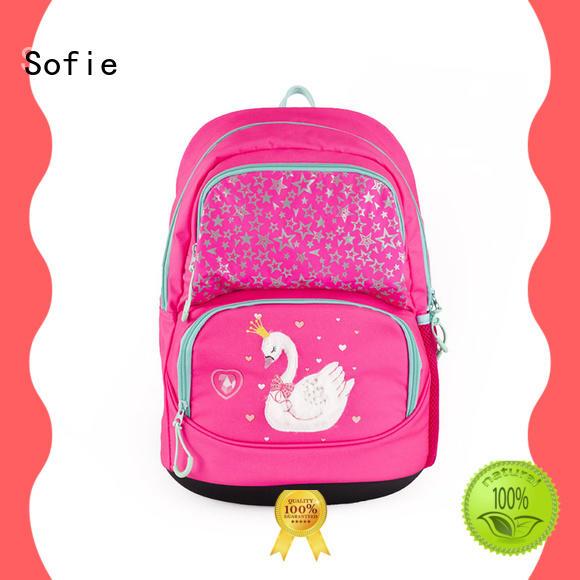 Sofie school bags for kids series for packaging