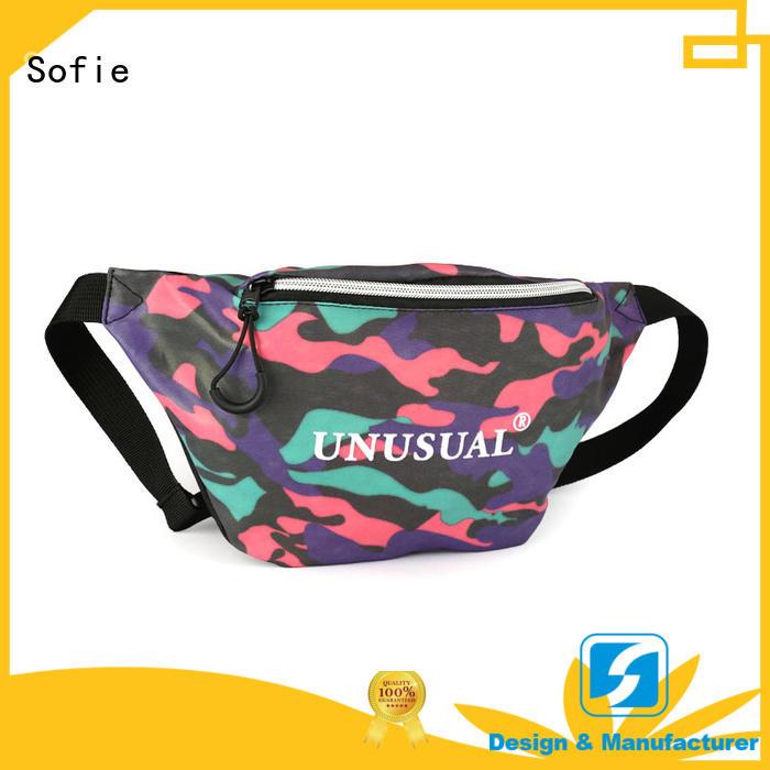 Sofie reflective waist pouch wholesale for decoration