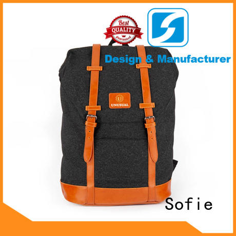 two zipper side reflective backpack wholesale for school