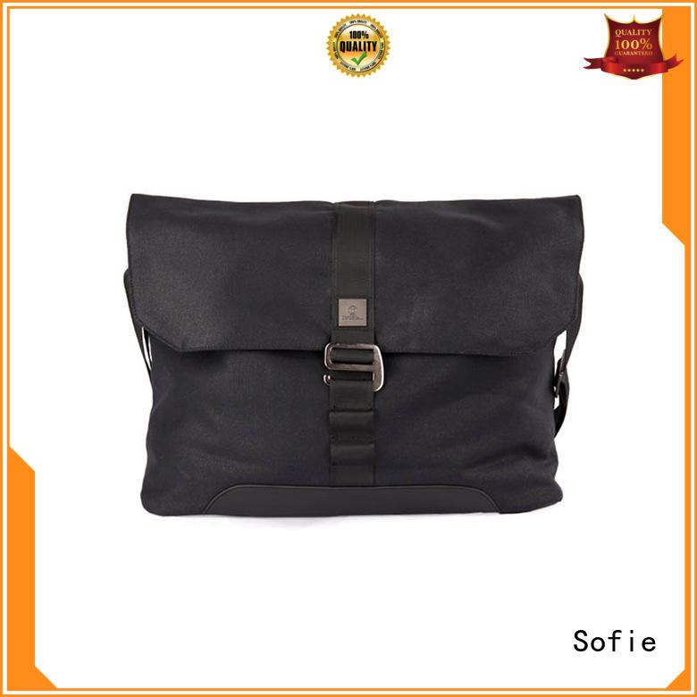 Sofie thick pipped handle briefcase laptop bag series for men