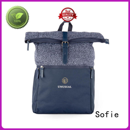 Sofie convenient reflective backpack personalized for business