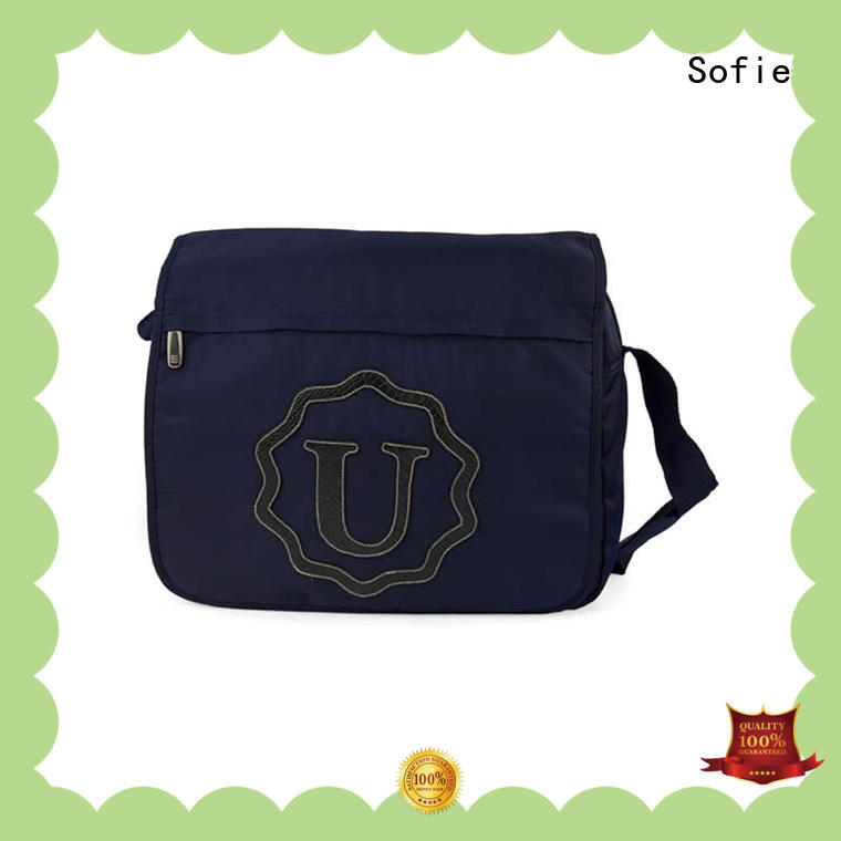 knit fabric business briefcase bag customized for women