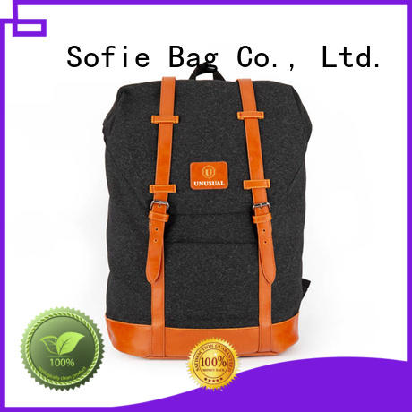 Sofie stylish backpack customized for travel