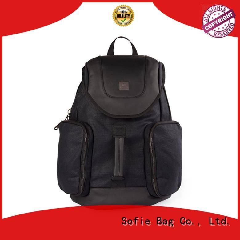 wrinkle printing laptop backpack manufacturer for school