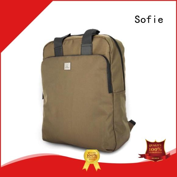 Sofie wrinkle printing laptop backpack wholesale for school