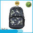 Reflective boy students school backpack with cooler bag 201901006B