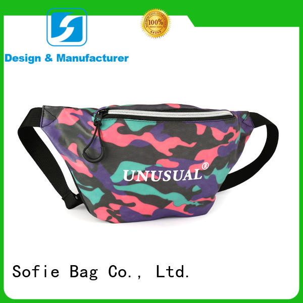 polyester belt sport waist bags wholesale for jogging