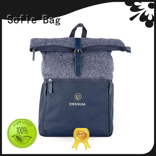 stylish backpack personalized for travel Sofie