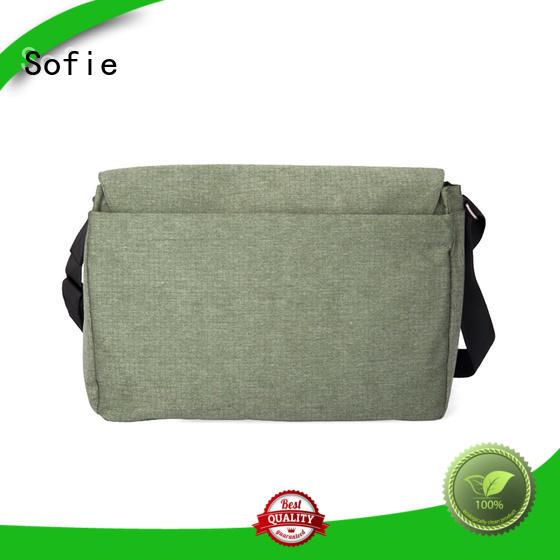 Sofie nylon shoulder straps laptop business bag manufacturer for travel