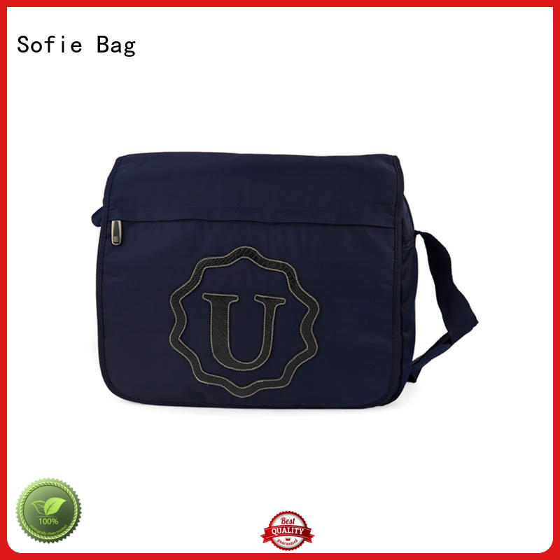 Sofie polyester business messenger bag manufacturer for office