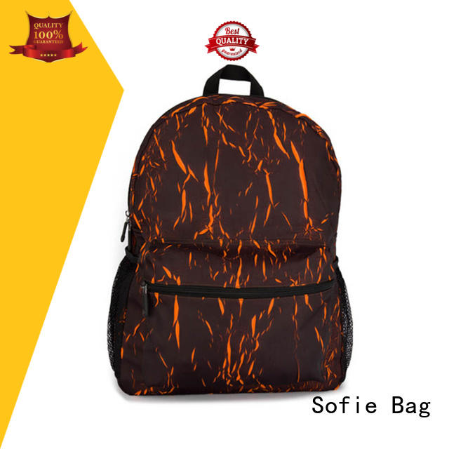 Sofie knitted fabric casual backpack wholesale for school