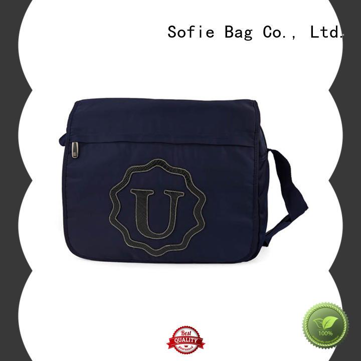 nylon shoulder strap business briefcase bag manufacturer for men