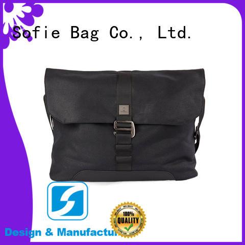 Sofie hot selling shoulder laptop bag factory direct supply for men