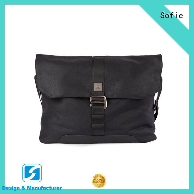 Sofie lattice jacquard fabric classic messenger bag directly sale for travel