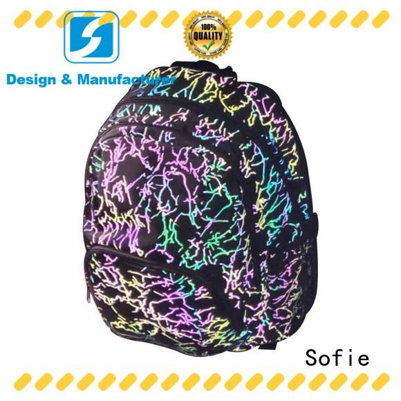 Sofie school bag series for packaging