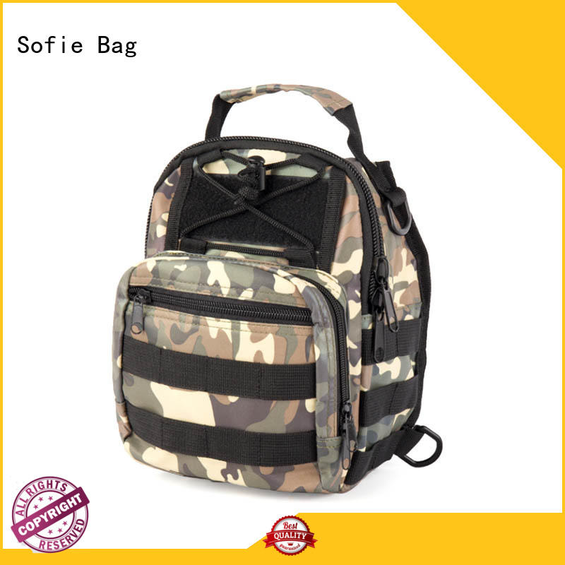 Sofie light weight chest bag supplier for packaging