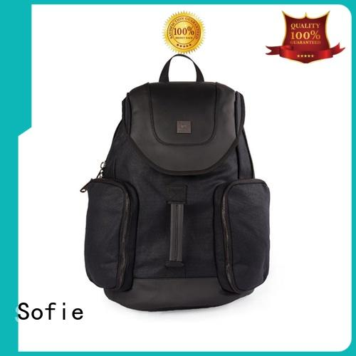 Outdoor multifunctional casual waxed canvas backpack S18033