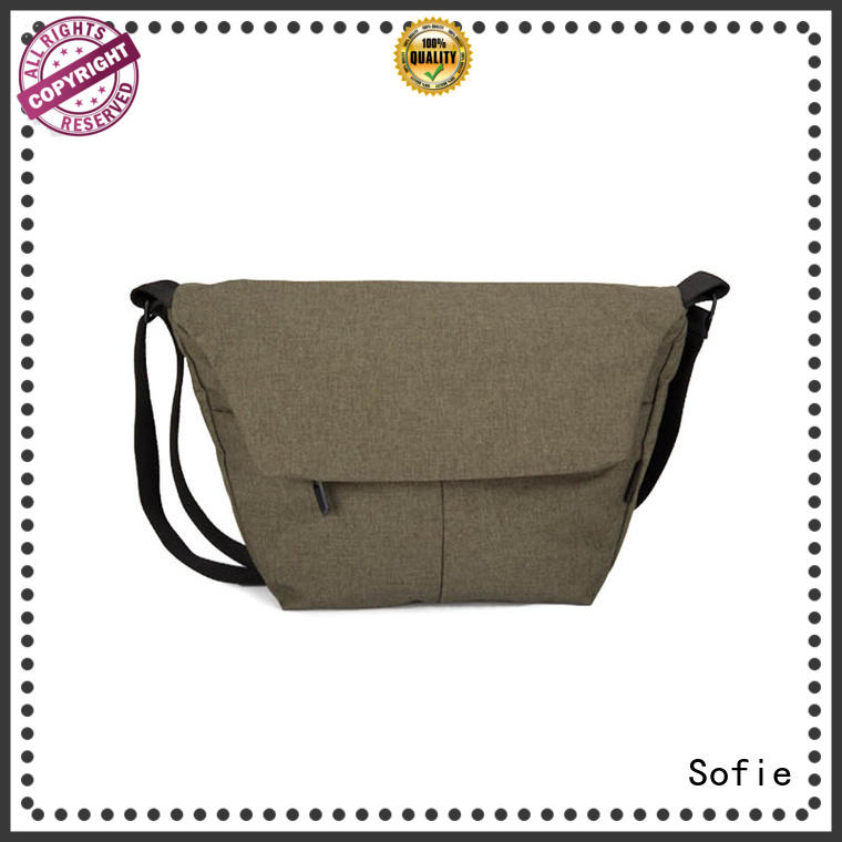 Sofie laptop shoulder bag factory price for packaging