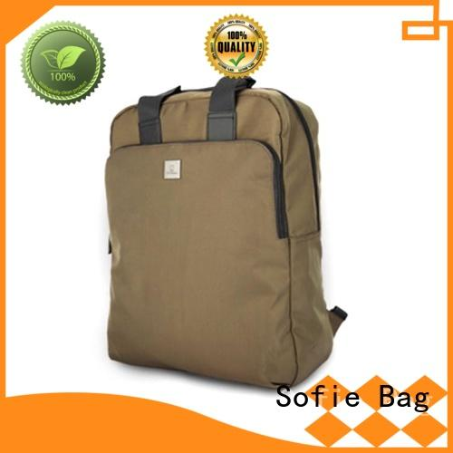 Sofie modern classic backpack customized for travel