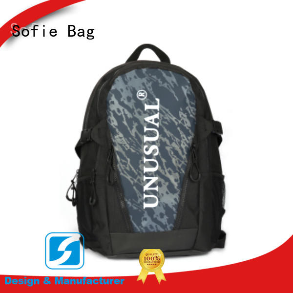PU leather handle sport backpack wholesale for travel