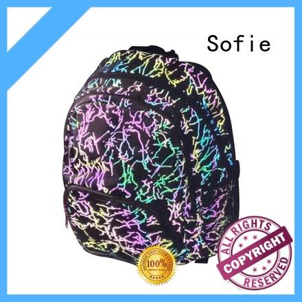 Sofie polyester school bags for boys wholesale for students