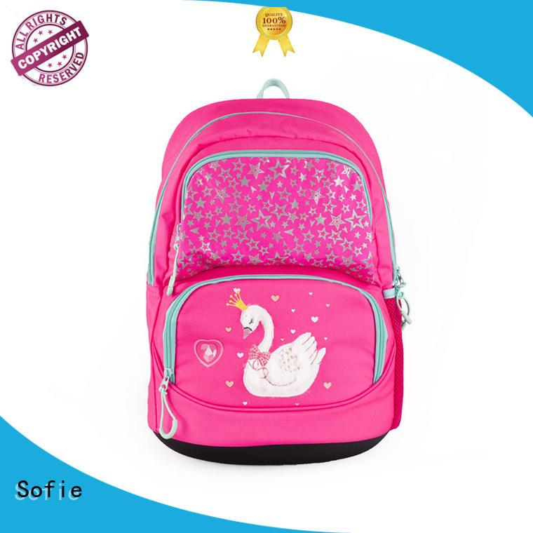 Sofie hard EVA bottom school bags for boys series for packaging