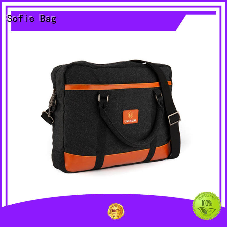 Sofie back pocket laptop messenger bags manufacturer for office