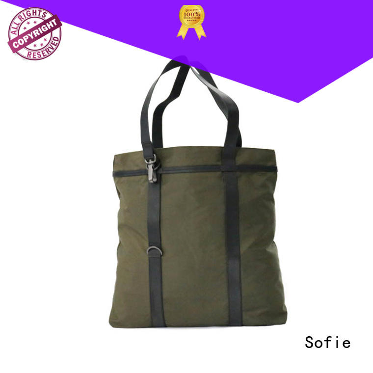Sofie convenient shopping bag manufacturer for men