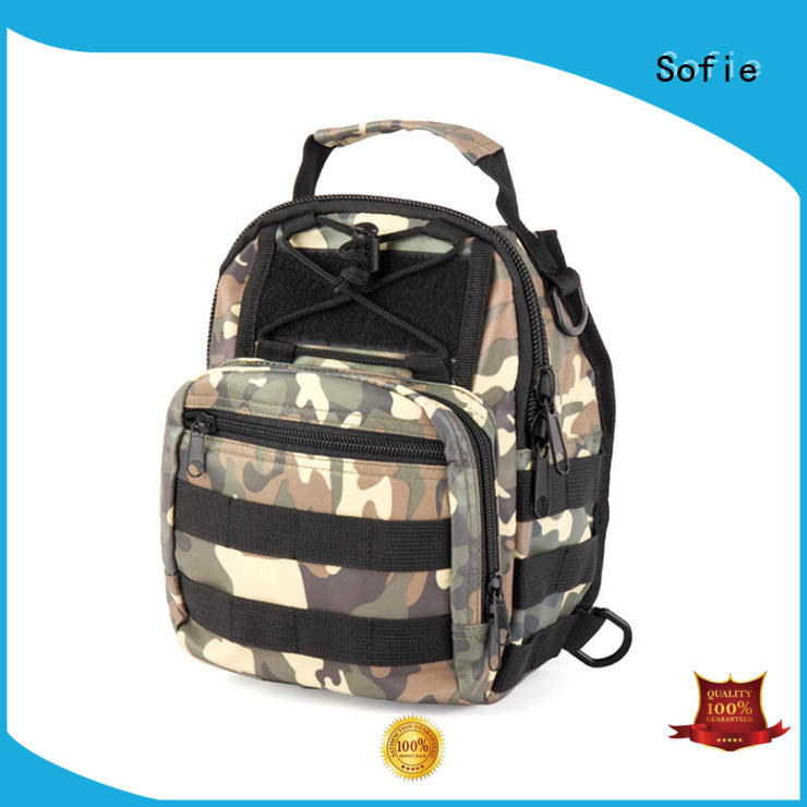 Sofie military chest bag wholesale for men