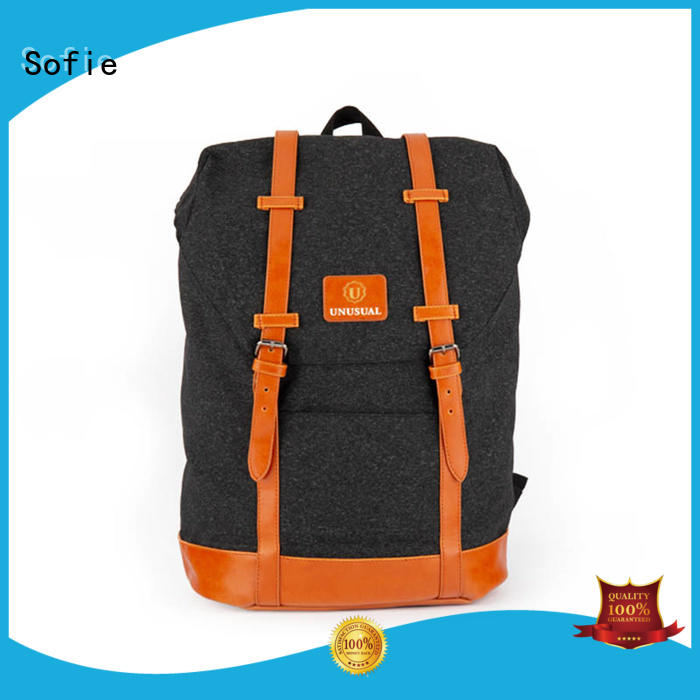 Sofie cool backpacks customized for college