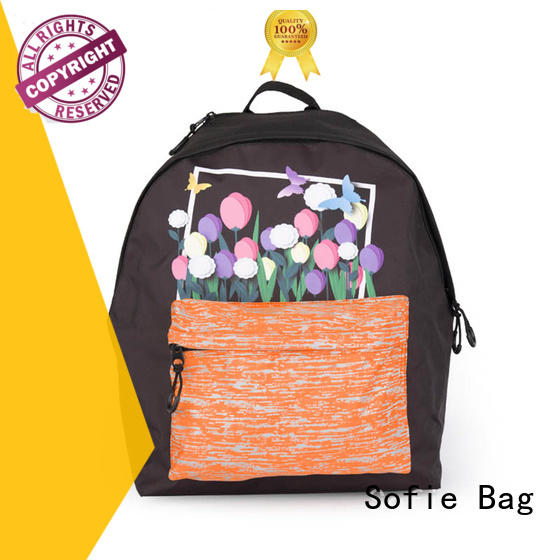Sofie school bag customized for kids