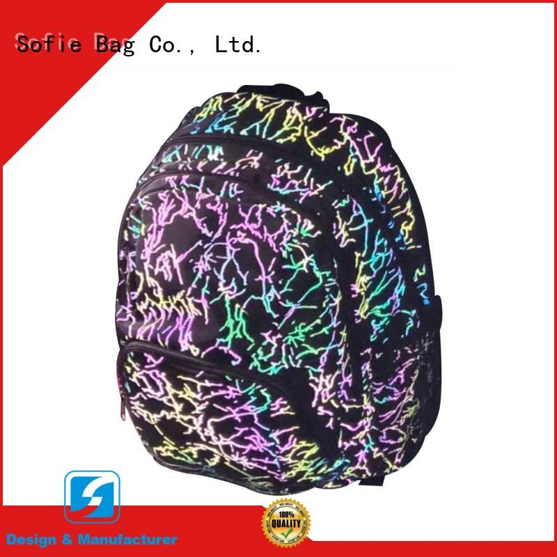 Sofie fashion school bags for boys supplier for kids