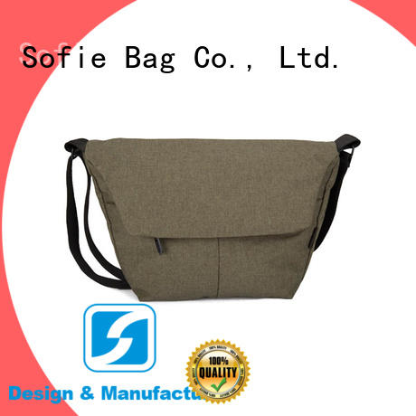 Sofie trapezoidal shape shoulder bag factory price for children