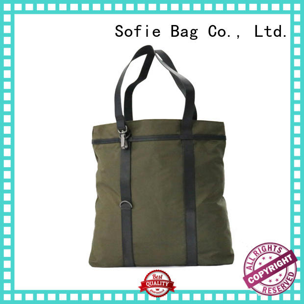 Sofie good quality foldable shopping bag series for women