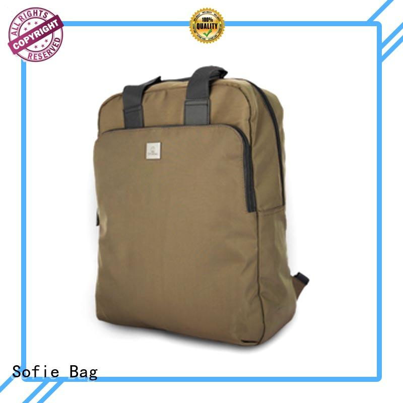 Sofie canvas backpack supplier for business