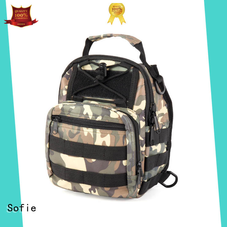 Sofie light weight military chest bag factory direct supply for packaging
