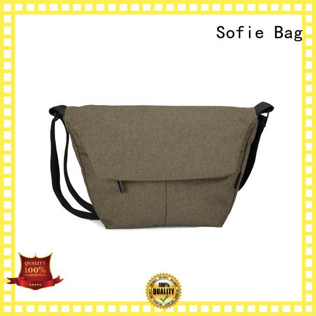 Sofie practical men shoulder bag factory direct supply for packaging