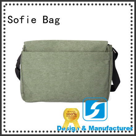 Sofie lattice jacquard fabric laptop business bag factory direct supply for men