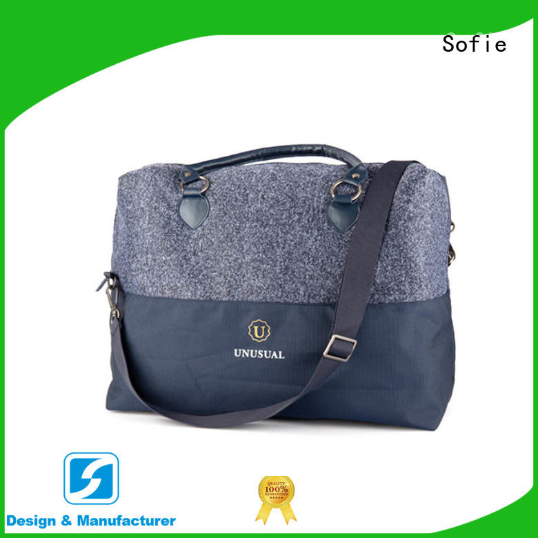 knitted fabric travel bags for women directly sale for packaging