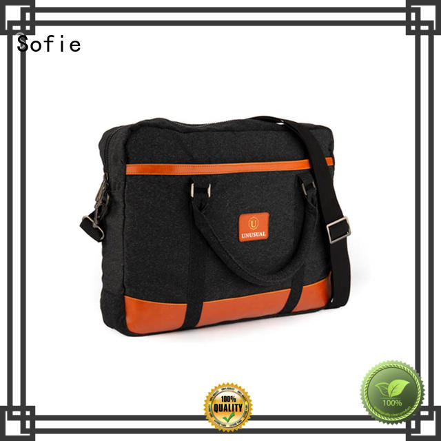 thick pipped handle messenger backpack manufacturer for office Sofie