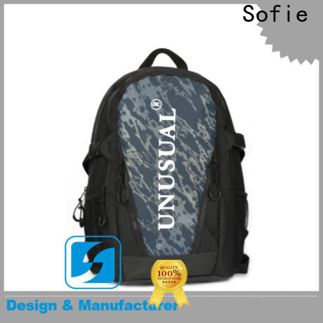 two zipper side cool backpacks supplier for business